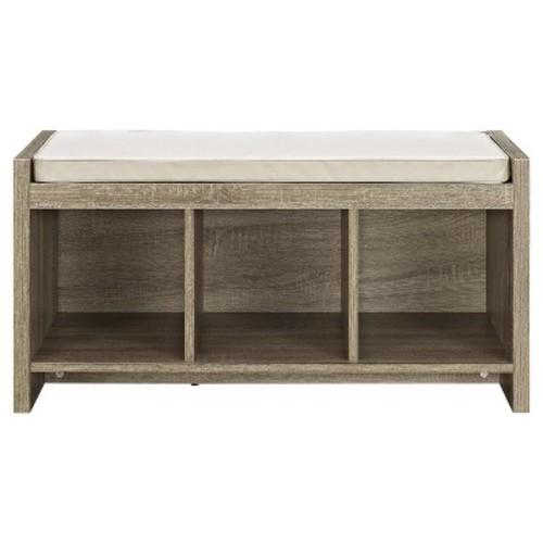 Altra Furniture Storage Bench With Beige