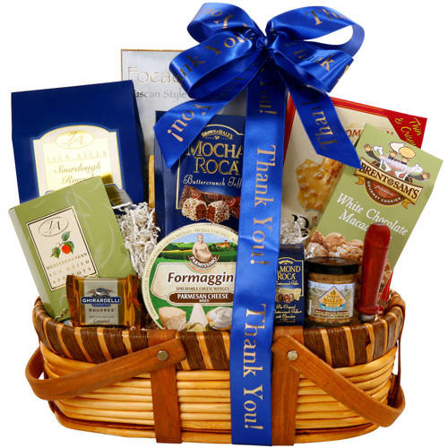 Alder Creek Gift Baskets Gourmet Thank You Greetings Gift Basket