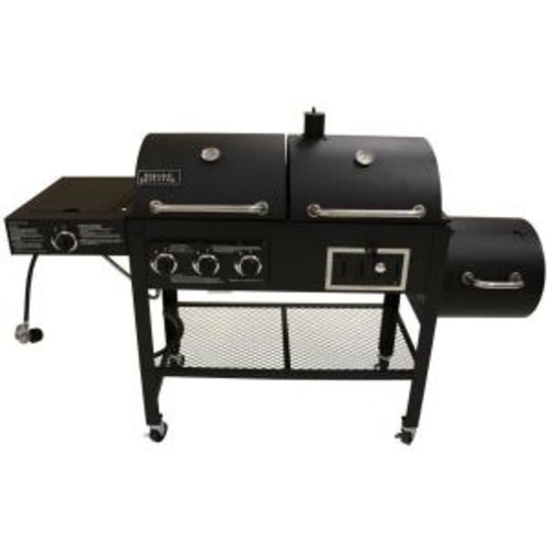 Smoke Hollow Triple Function Propane Gas/Charcoal Grill and Smoker