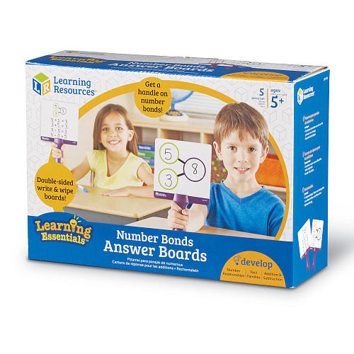 Learning Resources Number Bonds Answer Boards 5 Piece Set