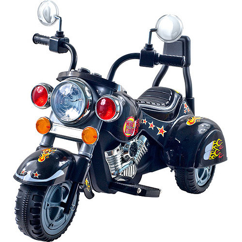 Harley-Style Wild Child 6 Volt Battery-Powered Motorcycle-Style Tricycle, Model# 80-YJ119B