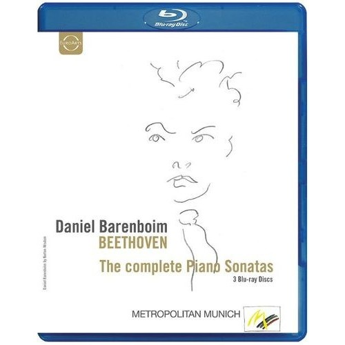 Beethoven: The Complete Piano Sonatas [Video] [Blu-Ray Disc]