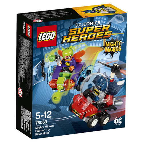 LEGO Superheroes Mighty Micros: Batman vs. Killer Moth (76069)
