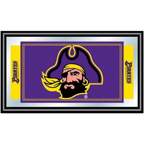 Trademark Games East Carolina Pirates Framed Team Logo Mirror