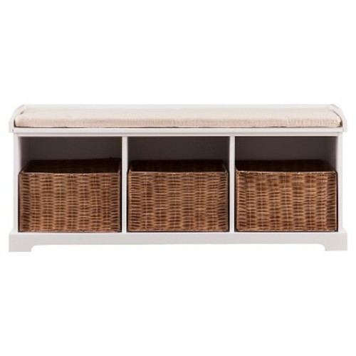Lorenz Entryway Storage Bench - Southern Enterprises