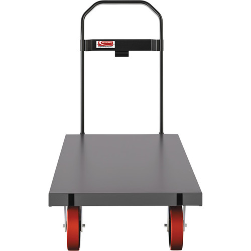 Suncast Heavy-Duty Metal Platform Truck  2,000lb. Capacity, 24in. x 48in., Model# MDPTHD2448