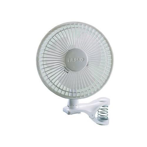 Lasko 2004W 2-Speed Clip Fan, 6-Inch, White [One Size]