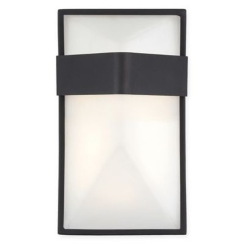 George Kovacs Wedge 1-Light LED Small Wall Sconce in Black