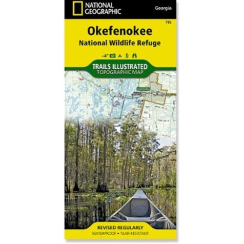 Okefenokee National Wildlife Refuge Topographic Map
