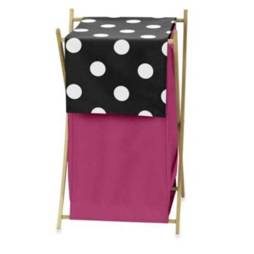 Sweet Jojo Designs Hot Dot Laundry Hamper