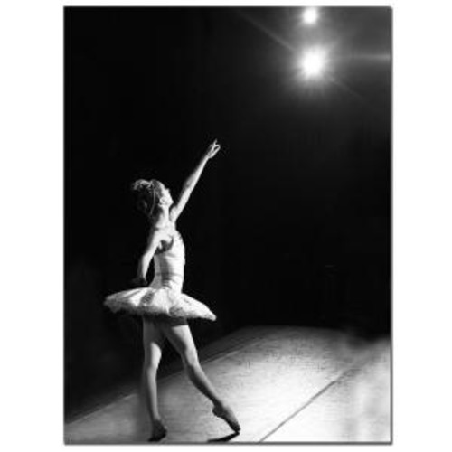 Trademark Fine Art 18 in. x 24 in. Ballerina I Canvas Art