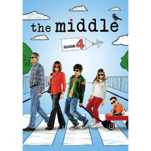 The Middle: Season 4 [3 Discs] [DVD]