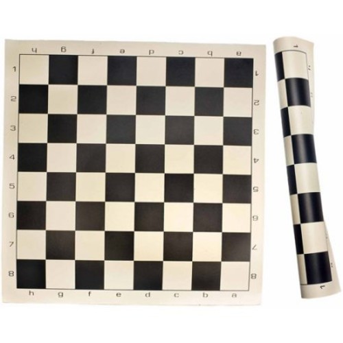 Sterling Games Roll Up Chess Mat, Black
