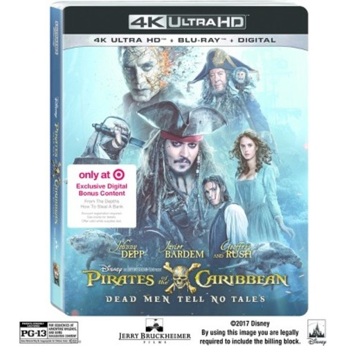 Pirates Of The Caribbean: Dead Men Tell No Tales Target Exclusive (4K/UHD + Blu-ray + Digital)
