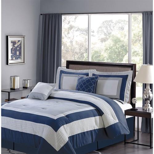 CHD Home Landon Collection Comforter Set - Queen, 5-Piece