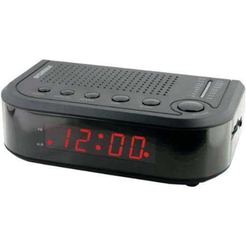 SYLVANIA SCR1388 AM/FM Clock Radio - SCR1388