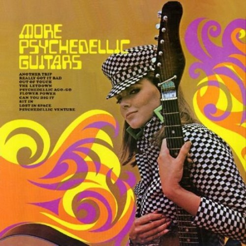More Psychedelic Guitars/Psychedelic Visions [CD]