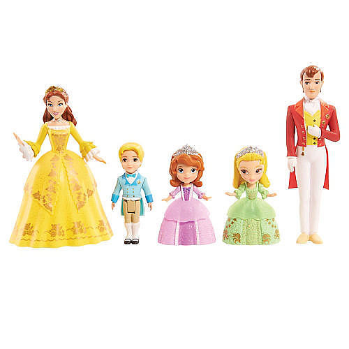Disney Junior Sofia the First Royal Family Doll Set