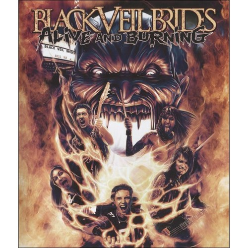 Alive and Burning [Video] [DVD]