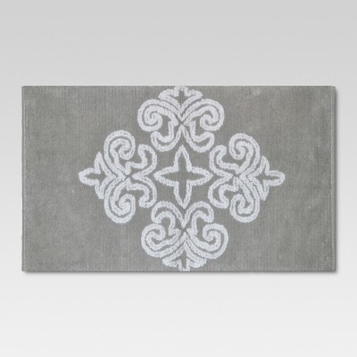 Medallion Bath Rug Tan - Threshold