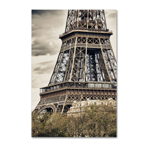 Trademark Global Philippe Hugonnard 'View of the Eiffel Tower' Canvas Art