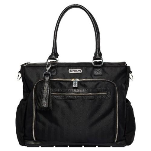 Itzy Ritzy Diaper Bag Tote - Solid Black