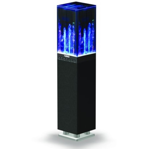 Naxa Dancing Water Light Tower Speaker System with Bluetooth