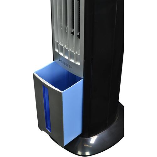 Air AF-310 Indoor/Outdoor Portable Evaporative Air Cooler [Black/Silver]