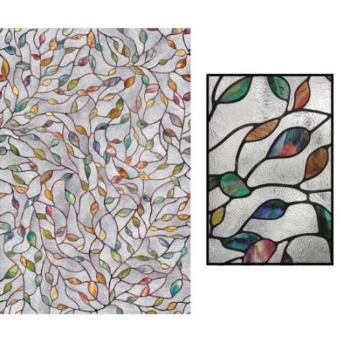 Artscape 24 in. x 36 in. New Leaf Decorative Window Film