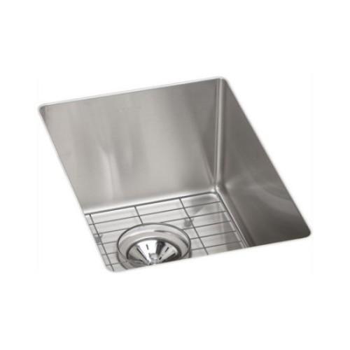 Elkay ECTRU12179DBG Crosstown Undermount 13-1/2 in. x 18-1/2 in. Single Basin Kitchen Sink (Steel)