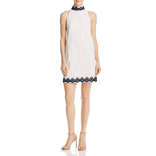 Black Eyed Susan Eyelet Dress