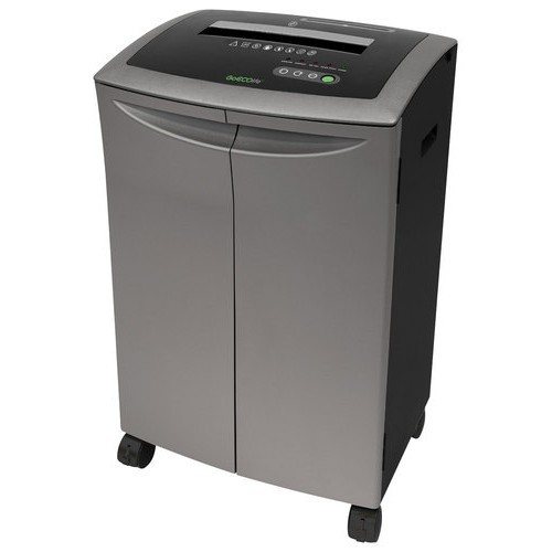GoECOlife - 20-Sheet Crosscut Shredder - Dark Gray/Black