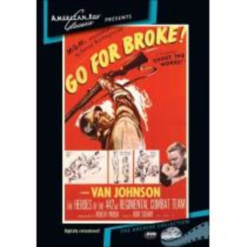 Go For Broke [DVD] [1951]