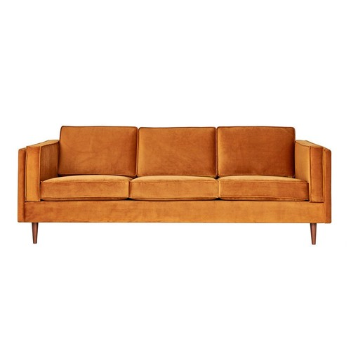 Adelaide Sofa in Velvet Rust design by Gus Modern - Pick up(Ohio customers only) [Option : Pick up(Ohio customers only)]