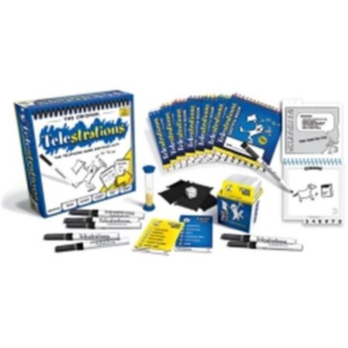 Usaopoly USAPG000264 Telestrations 8 Player Original Game