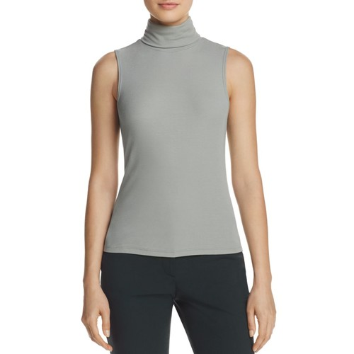 THEORY Wendel Ribbed Turtleneck Top