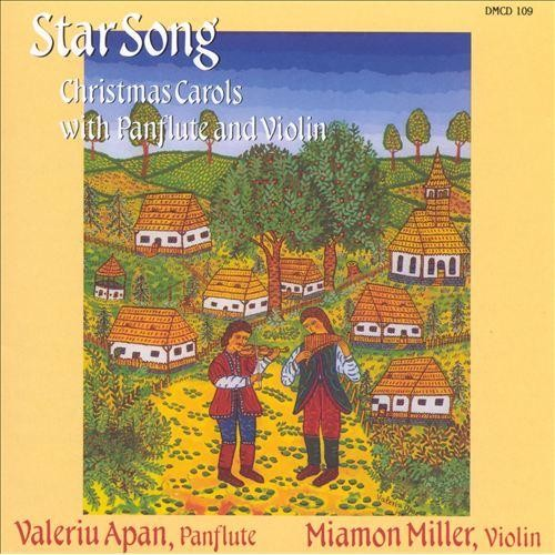 Star Song: Christmas Carols with Panflute and Violin [CD]