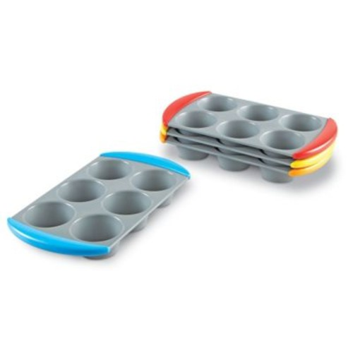 Learning Resources Mini Muffin Counters, 60/Set