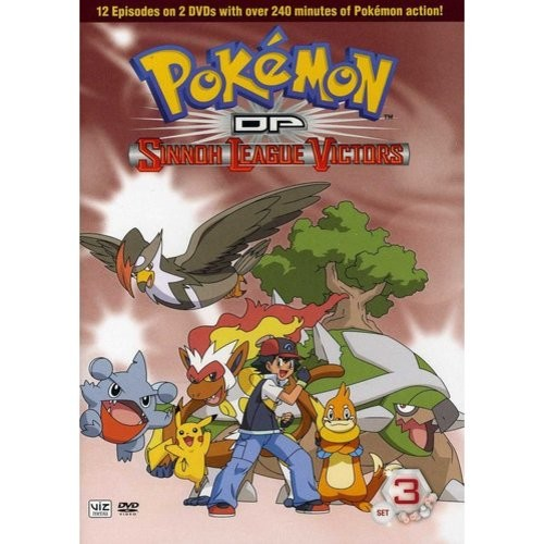 Pokemon DP Sinnoh League Victors: Set 3 [2 Discs] [DVD]