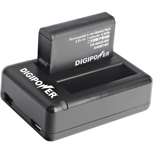 Digipower - Re-fuel Battery Charger - Black
