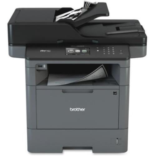 Brother MFC-L5900DW Laser Multifunction Printer - Monochrome - Plain Paper Print - Desktop - Copier/Fax/Printer/Scanner
