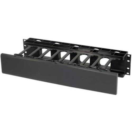 C2G 2U Single-Sided Horizontal Cable Management Panel - cable management panel - 2U