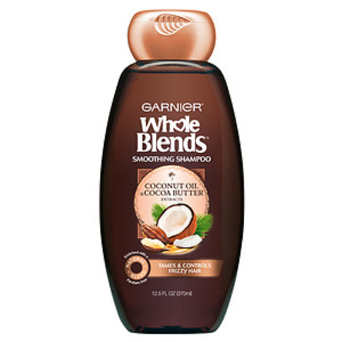 Garnier Whole Blends Smoothing Shampoo Coconut Oil & Cocoa Butter [12.5 oz]
