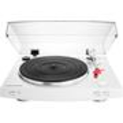 Audio-Technica AT-LP3 (White) Fully automatic belt-drive turntable with built-in phono preamp