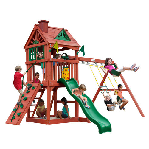 Gorilla Playsets Nantucket Cedar Playset
