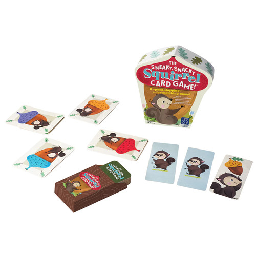 The Sneaky, Snacky Squirrel Card Game by Educational Insights