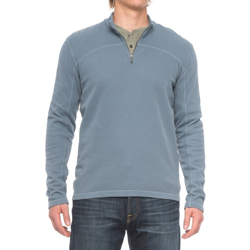 Agave Butte Zip Neck Sweater (For Men)