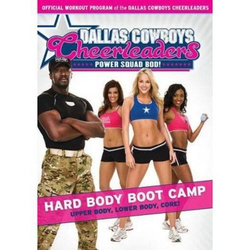 Dallas Cowboys Cheerleaders Power Squad Bod!: Hard Body Boot Camp (DVD)