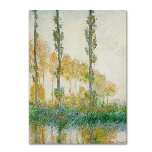 Claude Monet 'The Thames Below Westminster' Giclee Canvas Art