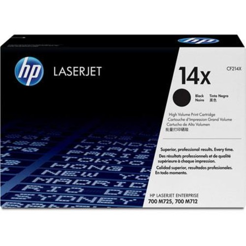 HP 14X High Yield Black Original LaserJet Toner Cartridge (CF214X)
